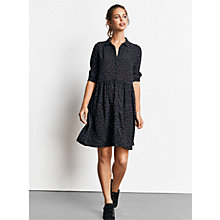 Buy hush Azalea Dress, Black/Ecru Star Print Online at johnlewis.com