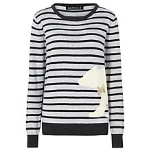 Buy Sugarhill Boutique Nita Polar Bear Jumper, Grey Online at johnlewis.com