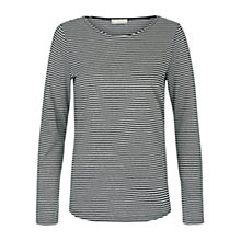 Buy Hobbs Evelyn Top, Grey/Ivory Online at johnlewis.com
