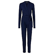 Buy Sugarhill Boutique Josie Wrap Jumpsuit, Navy Online at johnlewis.com