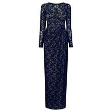 Buy Coast All Over Lace Reeva Dress, Navy Online at johnlewis.com