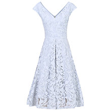 Buy Jolie Moi 50s Lace Fit And Flare Dress, Grey Online at johnlewis.com