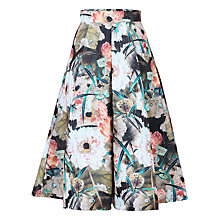 Buy Jolie Moi Floral Print 50s A-line Skirt Online at johnlewis.com