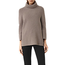 Buy AllSaints Jago Roll Neck Jumper Online at johnlewis.com