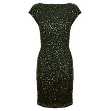 Buy Coast Frankie Ombre Dress, Forest Online at johnlewis.com