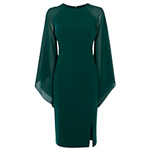 Buy Coast Angelica Drape Dress, Forest Online at johnlewis.com