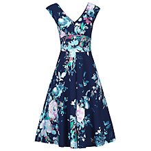 Buy Jolie Moi Floral Print Fit And Flare Dress Online at johnlewis.com