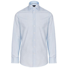 Buy Hackett London Haze Gingham Shirt, Blue/Sky Online at johnlewis.com