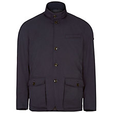 Buy Hackett London Painswick Funnel Neck Jacket, Navy Online at johnlewis.com
