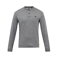 Buy Ted Baker Mylo Long Sleeve Henley Neck Jumper Online at johnlewis.com
