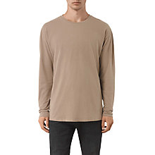 Buy AllSaints Jovian Long-Sleeve Oversized T-Shirt Online at johnlewis.com