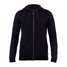 Buy Ted Baker Rider Knit Full Zip Hoodie Online at johnlewis.com