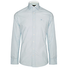 Buy Hackett London Geo Star Print Shirt, Blue/Green Online at johnlewis.com
