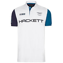 Buy Hackett London Aston Martin Racing Polo Shirt Online at johnlewis.com