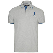 Buy Hackett London Stripe Trim Number Polo Shirt Online at johnlewis.com