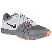 Buy Nike Air Nike Air Epic Speed TR II Cross Trainer, Grey/Orange Online at johnlewis.com