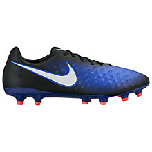 Buy Nike Magista Onda II Men's Firm-Ground Football Boots, Black/Multi Online at johnlewis.com