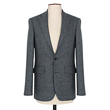 Buy Thomas Pink Tarbet Donegal Wool Blazer, Black/Blue Online at johnlewis.com