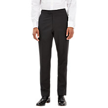 Buy Jaeger Wool Mohair Regular Fit Dinner Suit Trousers, Black Online at johnlewis.com