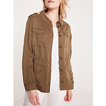 Buy AND/OR Utility Jacket, Khaki Online at johnlewis.com