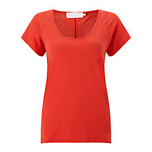 Buy Collection WEEKEND by John Lewis Slub Raglan Short Sleeve T-Shirt Online at johnlewis.com