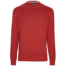 Buy Hackett London Garment Dye Cotton Wool Crew Neck Jumper Online at johnlewis.com