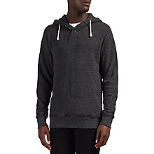 Buy Scotch & Soda Home Alone Buttoned Hoodie, Antra Melange Online at johnlewis.com
