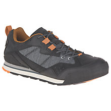 Buy Merrell Burnt Rock Shoes, Black Online at johnlewis.com