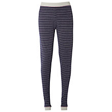 Buy White Stuff Half Moon Leggings, French Navy Online at johnlewis.com