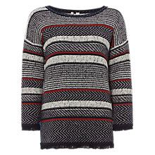 Buy White Stuff Hot Toddy Jumper, Deep Dusky Blue Online at johnlewis.com