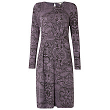 Buy White Stuff Into The Night Print Dress, Iris Grey Online at johnlewis.com