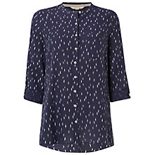 Buy White Stuff Dash Shirt, Charcoal Online at johnlewis.com