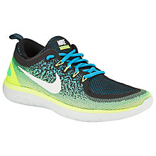 Buy Nike Free RN Distance 2 Men's Running Shoes, Blue Online at johnlewis.com