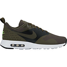 Buy Nike Air Max Tavas Special Edition Men's Trainers, Cargo Khaki/Black Online at johnlewis.com