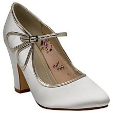 Buy Rainbow Club Marcia Mary Jane Court Shoes, Ivory Online at johnlewis.com