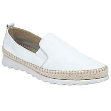 Buy John Lewis Designed for Comfort Gazal Slip On Trainers, White Online at johnlewis.com