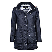 Buy Barbour Barnacle Waxed Jacket Online at johnlewis.com