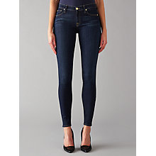 Buy 7 For All Mankind The Skinny B(air) Jeans, Rinsed Indigo Online at johnlewis.com