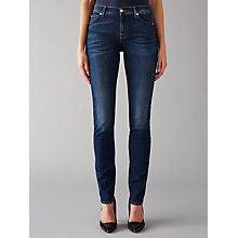 Buy 7 For All Mankind Roxanne Mid Rise B(air) Slim Jeans, Duchess Online at johnlewis.com