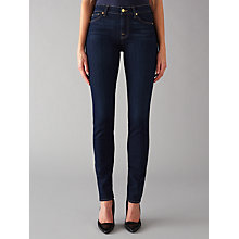 Buy 7 For All Mankind Roxanne Mid Rise B(air) Slim Jeans, Rinsed Indigo Online at johnlewis.com