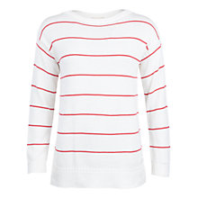 Buy Barbour Barnavle Stripe Jumper Online at johnlewis.com