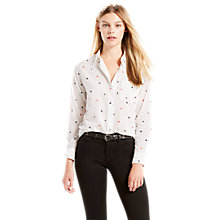 Buy Levi's Sidney One Pocket Boyfriend Shirt, Koto Marshmallow Online at johnlewis.com