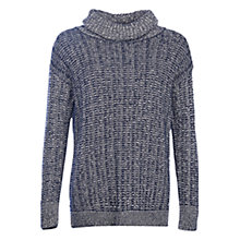 Buy Barbour Hermit Jumper, Navy/Cloud Online at johnlewis.com