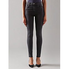 Buy J Brand Carolina High Rise Skinny Jeans, Exile Online at johnlewis.com