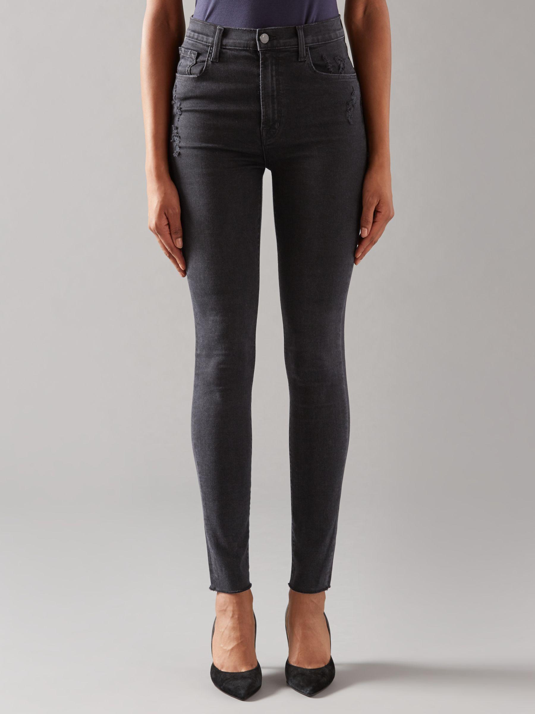 J Brand J Brand Carolina High Rise Skinny Jeans, Exile