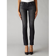 Buy AG The Stilt Skinny Jeans, Grey Mist Online at johnlewis.com