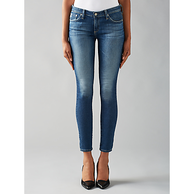 AG The Harper Straight Skinny Jeans, Blue