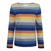 Buy Seasalt Trumpet Stripe Jumper, Skye Multi Online at johnlewis.com