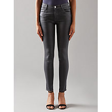 Buy J Brand 620 Mid Rise Super Skinny Jeans, Fearless Online at johnlewis.com