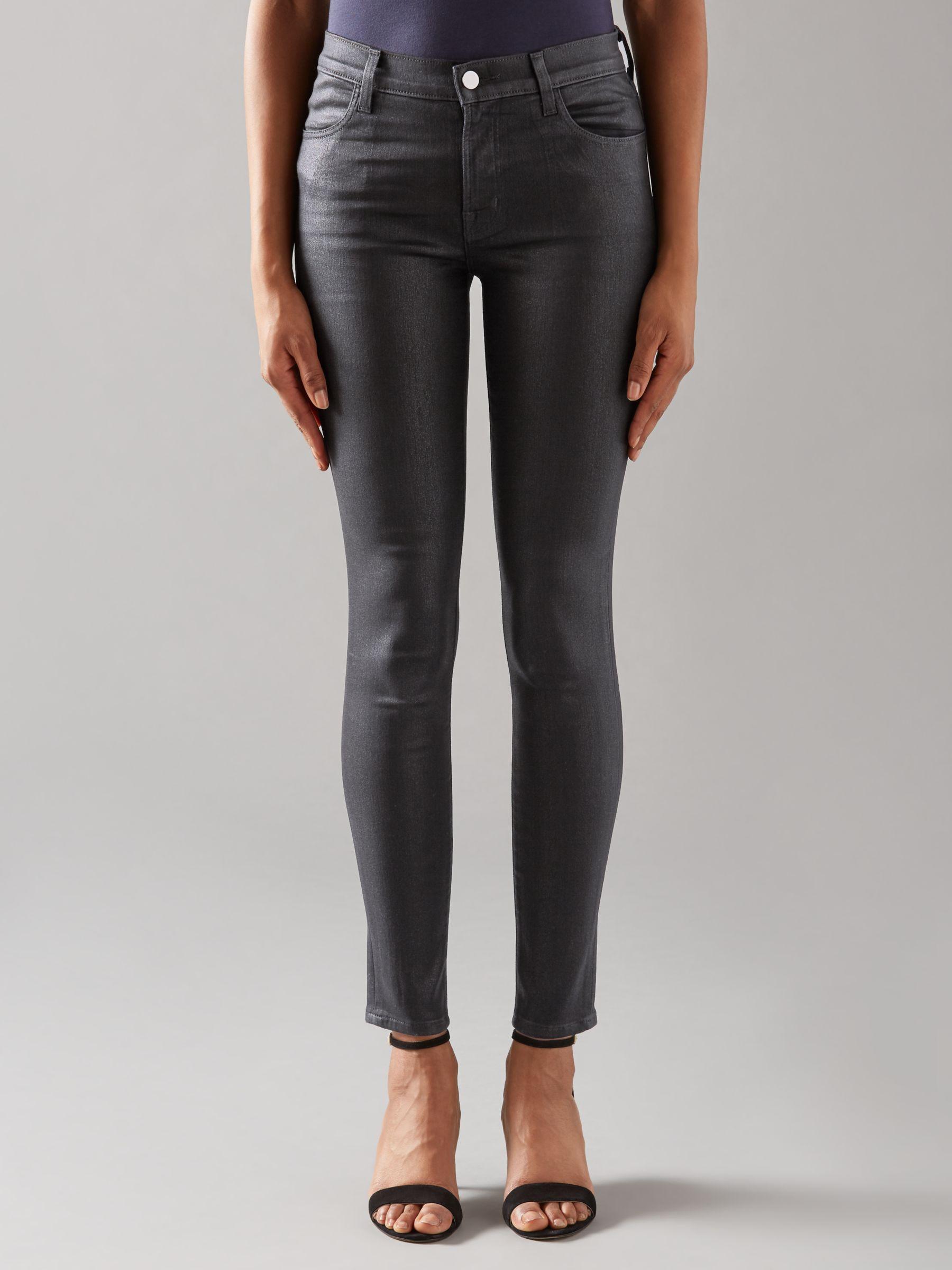 J Brand J Brand 620 Mid Rise Super Skinny Jeans, Fearless